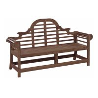 Alexander Rose Sherwood Acacia 6 ft Lutyens Bench