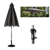 3x2m Solar Rectangular Luxury Parasol