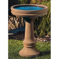 Plain And Simple Bird Bath – Ceder Water Stone (#89)
