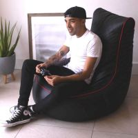 Alpha Hog Fengjing Gaming Chair Black - Quilted PU