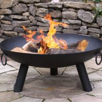 Dakota Steel Fire Pit - Large