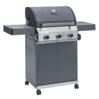 Grillstream Classic 3 Burner Hybrid with Side Burner