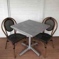Lyon Chair City Square Folding Bistro Set