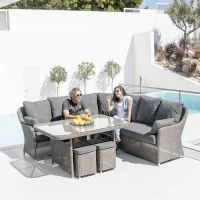 Monte Carlo Rattan Dining Set by Alexander Rose
