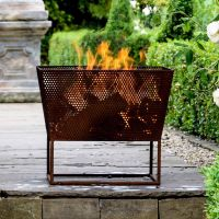 Norfolk Rust Iron 52cm Firebowl
