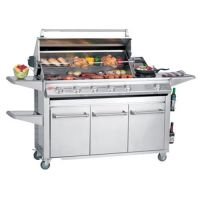 SL4000S Series - 6 Burners BBQ & 'Drawer' Trolley – BeefEater