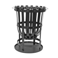 Traditional Garden Brazier Vulcan Including BBQ Grill & Collection Plate